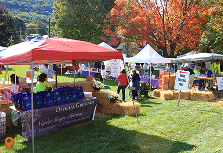 Naples Grape Festival | Canandaigua Area
