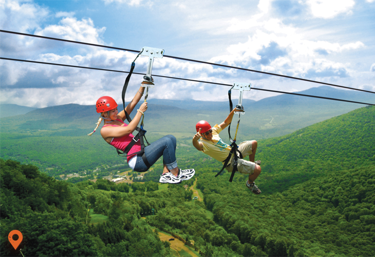 New York Zipline Canopy Tours | Great Northern Catskills