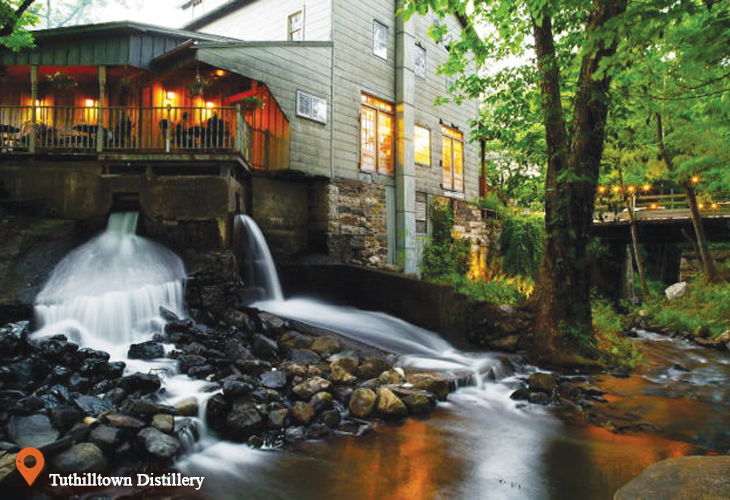 Tuthilltown Distillery   Ulster County